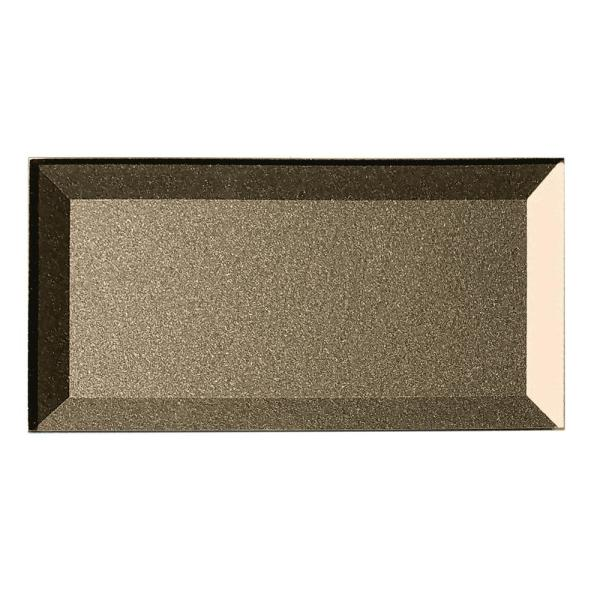 ABOLOS Subway 3 in. x 6 in. Metallic Bronze Beveled Glossy