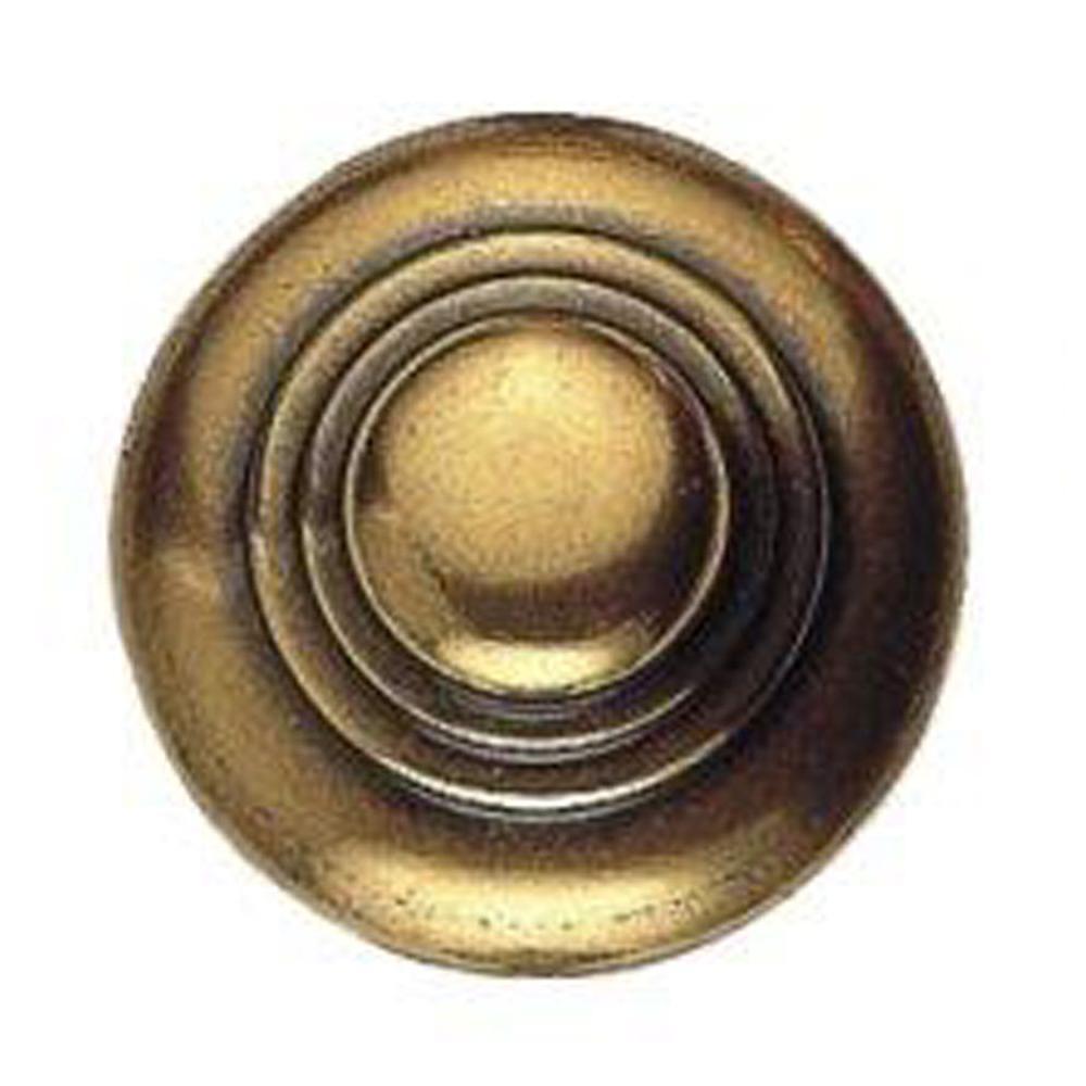 0.98 in. Old Iron Round Knob