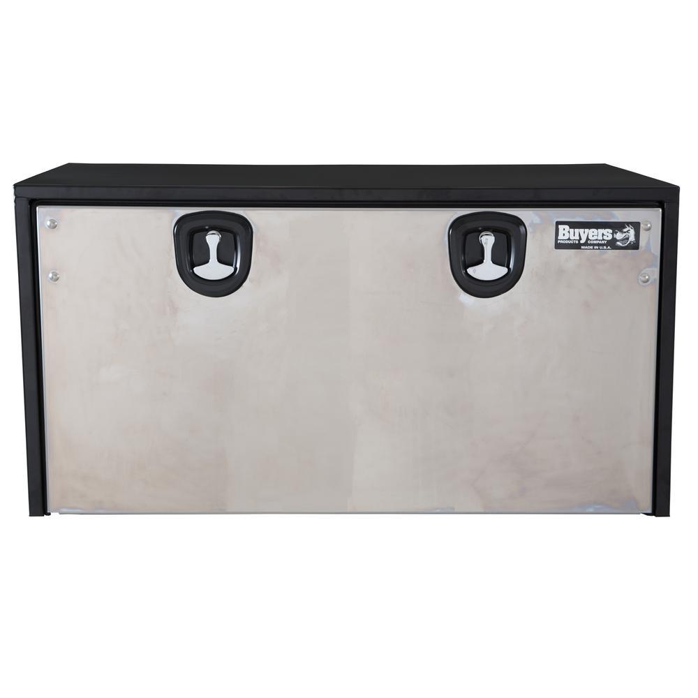 48 Gloss Black Carbon Steel  Underbody Truck Tool Box