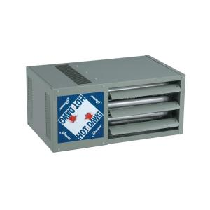 Modine Hot Dawg 125 000 Btu Propane Gas Heater With Finger Proof Guard Hd125lp The Home Depot