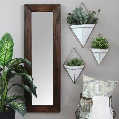 """White Wall Planters"" Wall Art"