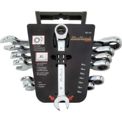 Ratcheting Box Wrench Set (7-Piece)