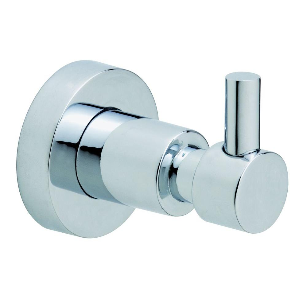 Loxx Single Robe Hook in Chrome