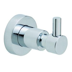 No Drilling Required Loxx Single Robe Hook in Chrome by No Drilling Required