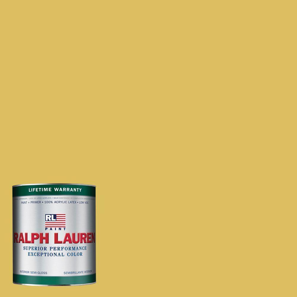 Ralph Lauren 1-qt. Medici Yellow Semi-Gloss Interior Paint