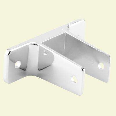 Chrome 2 Ear Wall Bracket