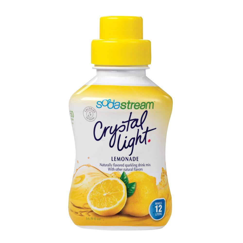 SodaStream 500ml Soda Mix - Crystal Light Lemonade (Case of 4)