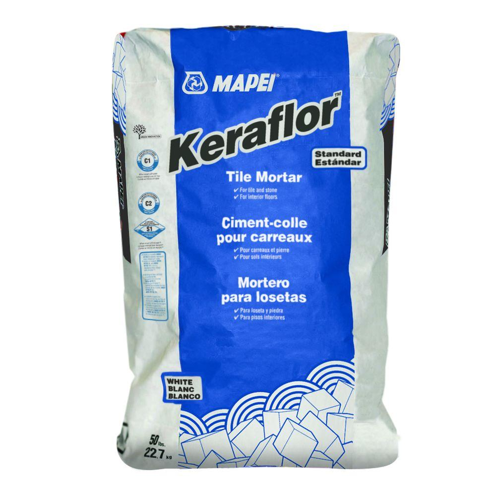 Mapei keraflor 50 lb dry set mortar 0040051l the home depot mapei keraflor 50 lb dry set mortar dailygadgetfo Gallery