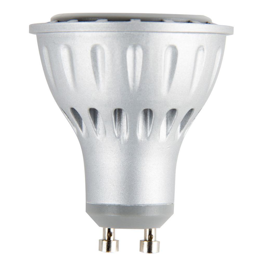 6W Equivalent 3,000K MR16 GU 10 Dimmable LED Light Bulb