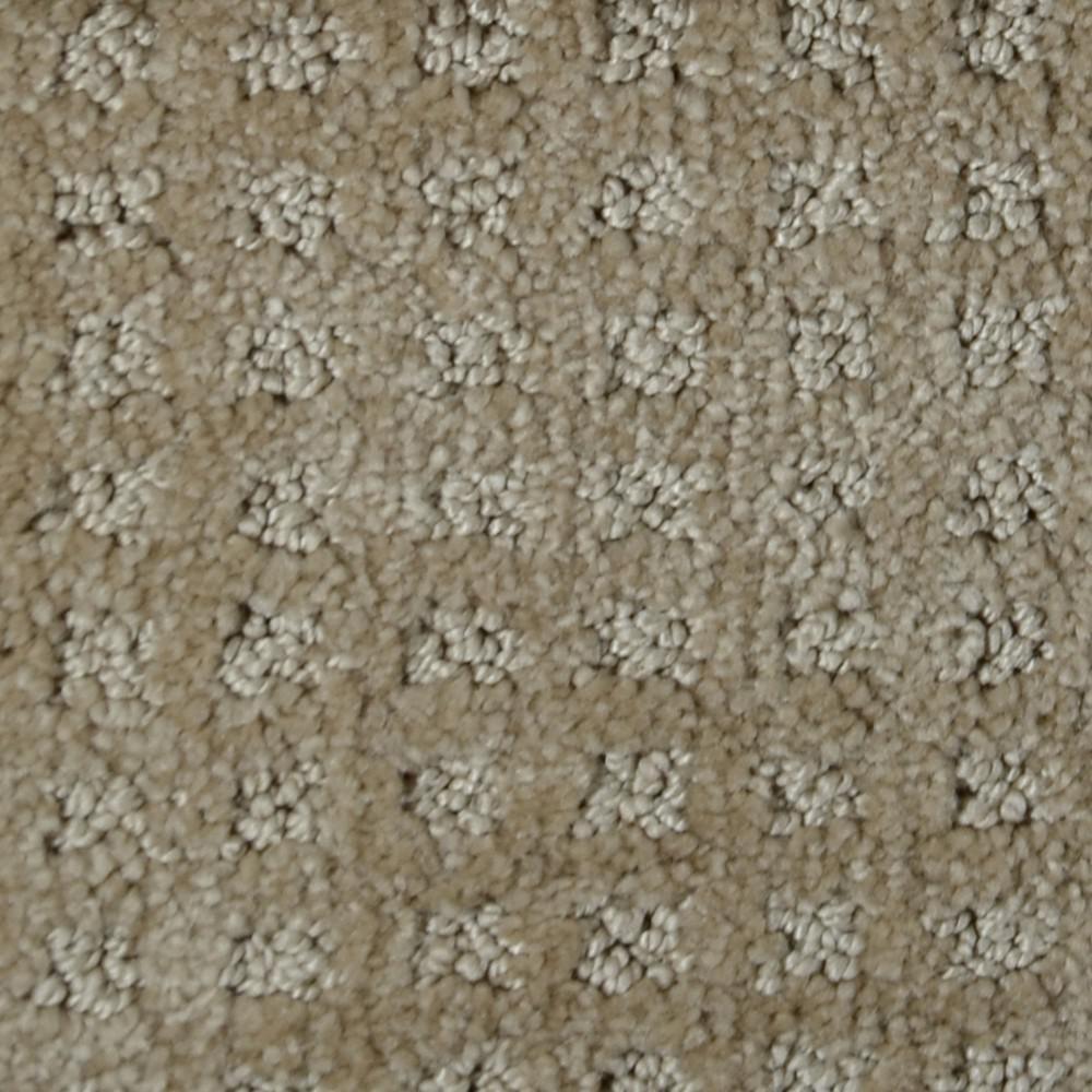 Carpet Sample - Traverse - Color Bear Dunes Pattern 8 in. x 8 in.