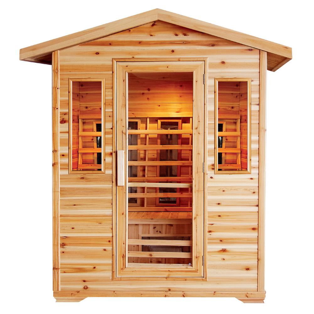Cayenne 4-Person Outdoor Infrared Sauna