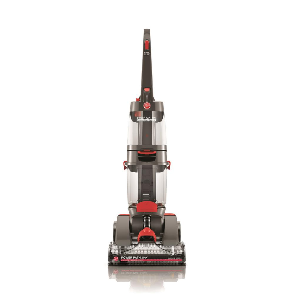 Hoover Power Path Max Upright Carpet Cleaner, Grays