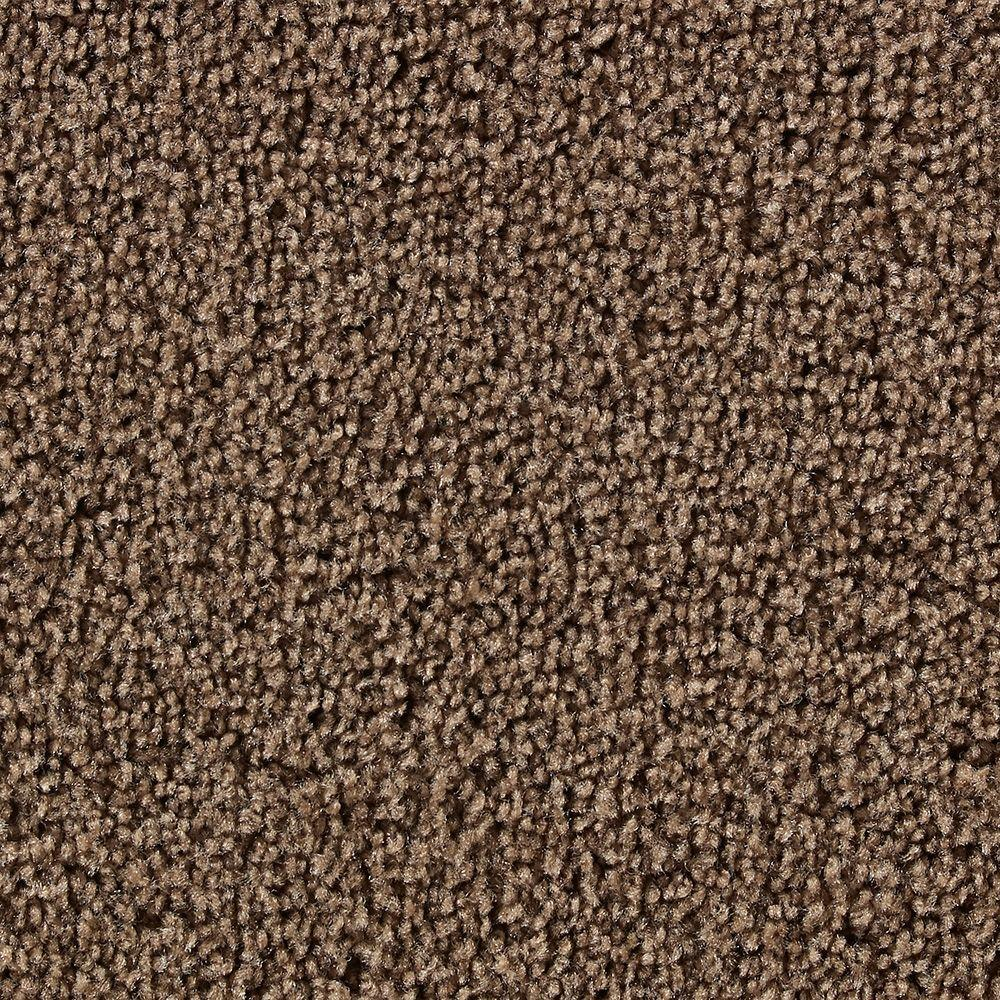 Martha Stewart Living Beechwood Tilled Soil - 6 in. x 9 in. Take Home Carpet Sample-DISCONTINUED