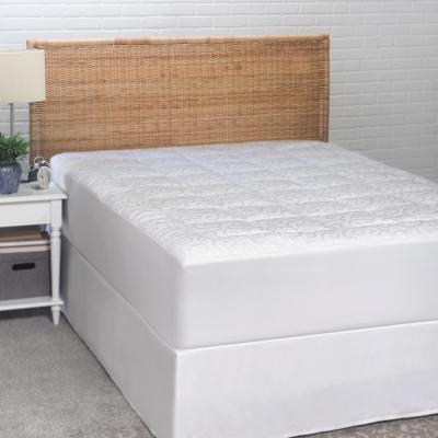 Candice Olson 300 Thread Count Jacquard California King Mattress Pad
