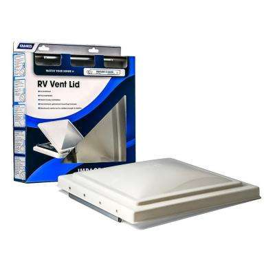 White Polypropylene Replacement Vent Lid