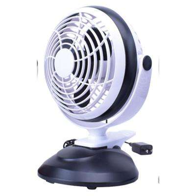 3-Watt 6 in. USB Desktop Clip Fan with Adaptor