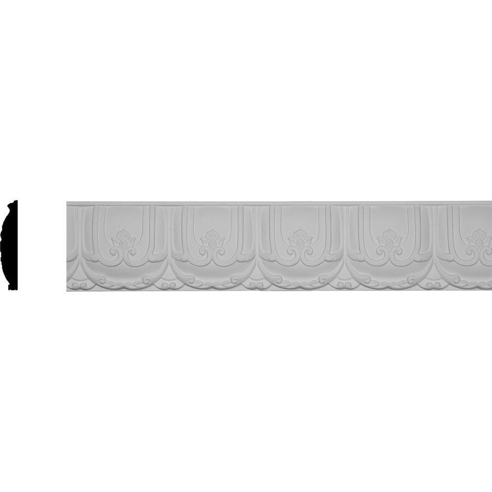 Ekena Millwork 7/8 In. X 4-7/8 In. X 96 In. Polyurethane