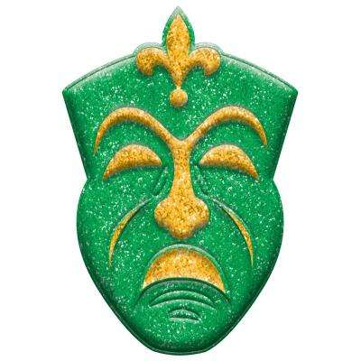 14 in. Mardi Gras Plastic Tragedy Mask 3D Decoration (5-Pack)
