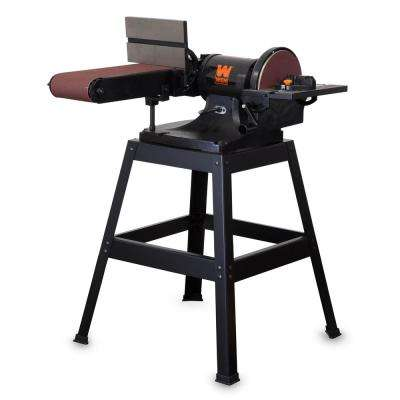 6 x 48 in. Belt and 9 in. Disc Sander with Stand