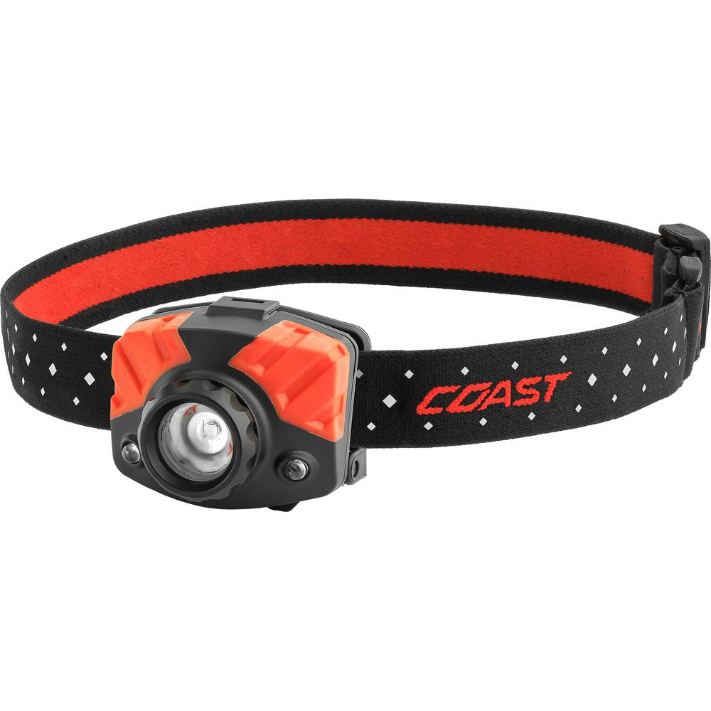 Coast FL75 435 Lumen Dual Color LED Headlamp with Twist Focus