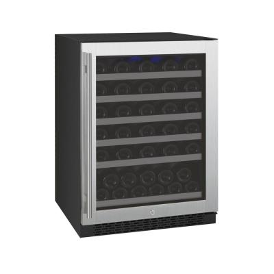 FlexCount II Single Zone 56-Bottle Built-in Wine Refrigerator