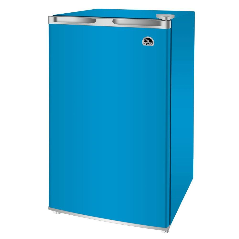 Igloo 3.2 cu. ft. Mini Refrigerator in Blue