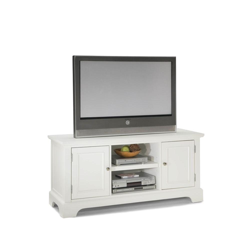 Home styles naples white storage entertainment center 5530 White tv console