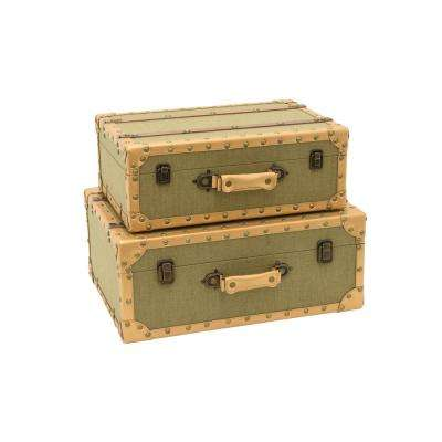 Storage Suit Case (Set of 2)
