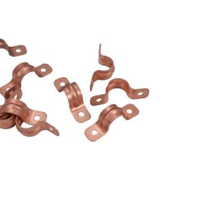 1/2 in. Copper Tube Strap 2 Hole (10-Pack)