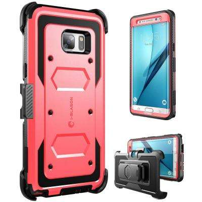 Galaxy Note 7-Armorbox Fullbody Case, Red