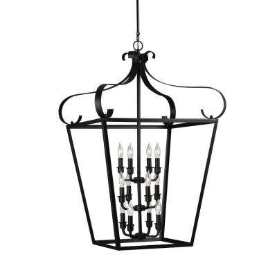 Lockheart 12-Light Blacksmith Hall-Foyer Pendant