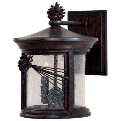 Abbey Lane 2-Light Iron Oxide Outdoor Wall Mount