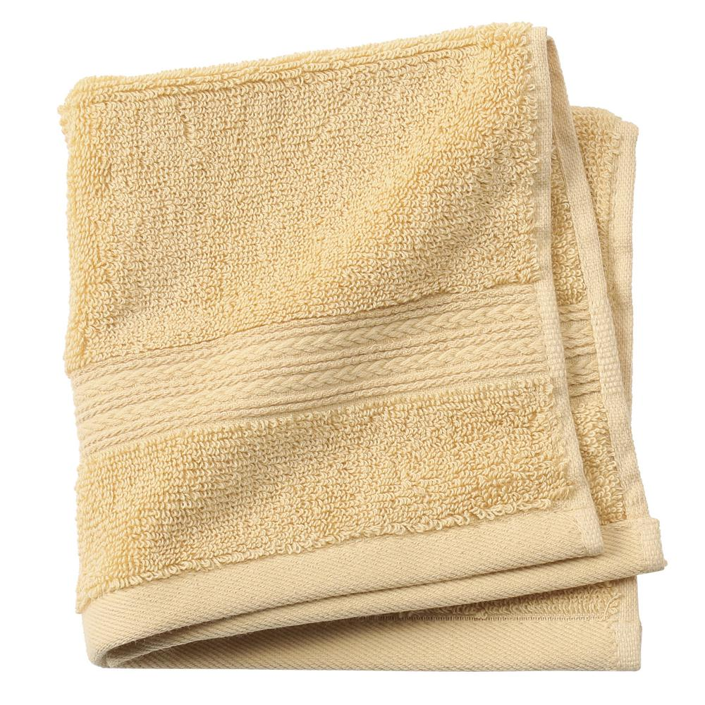 Newport 1-Piece Face Towel in Gold