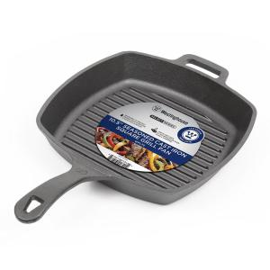 Cast Iron 10.5 inch Grill Pan by