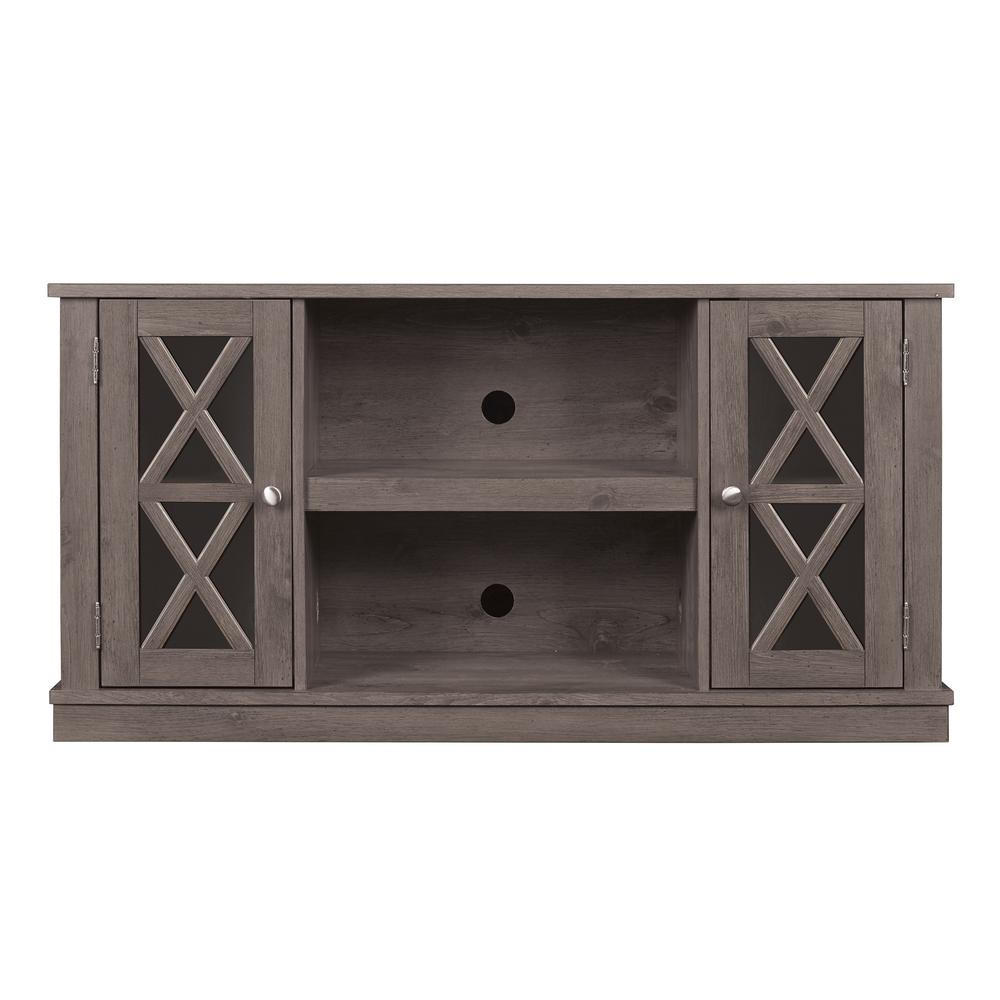 Bell'O Bayport TV Stand for 55 in. TVs in Spanish Gray