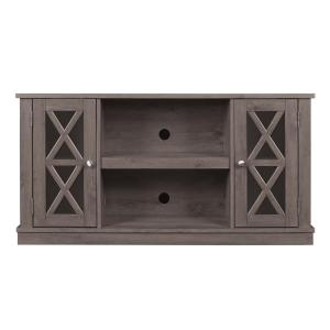 Bello Bayport Tv Stand For 55 In Tvs In Spanish Gray Tc48 6092