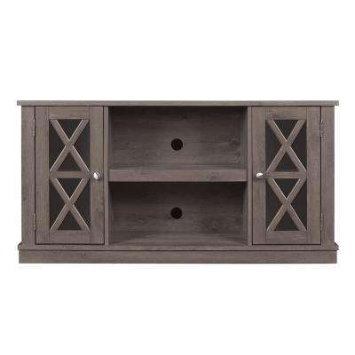 Bayport TV Stand for 55 in. TVs in Spanish Gray