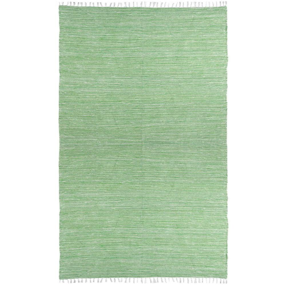 Green Chenille 10 Ft X 14 Area Rug