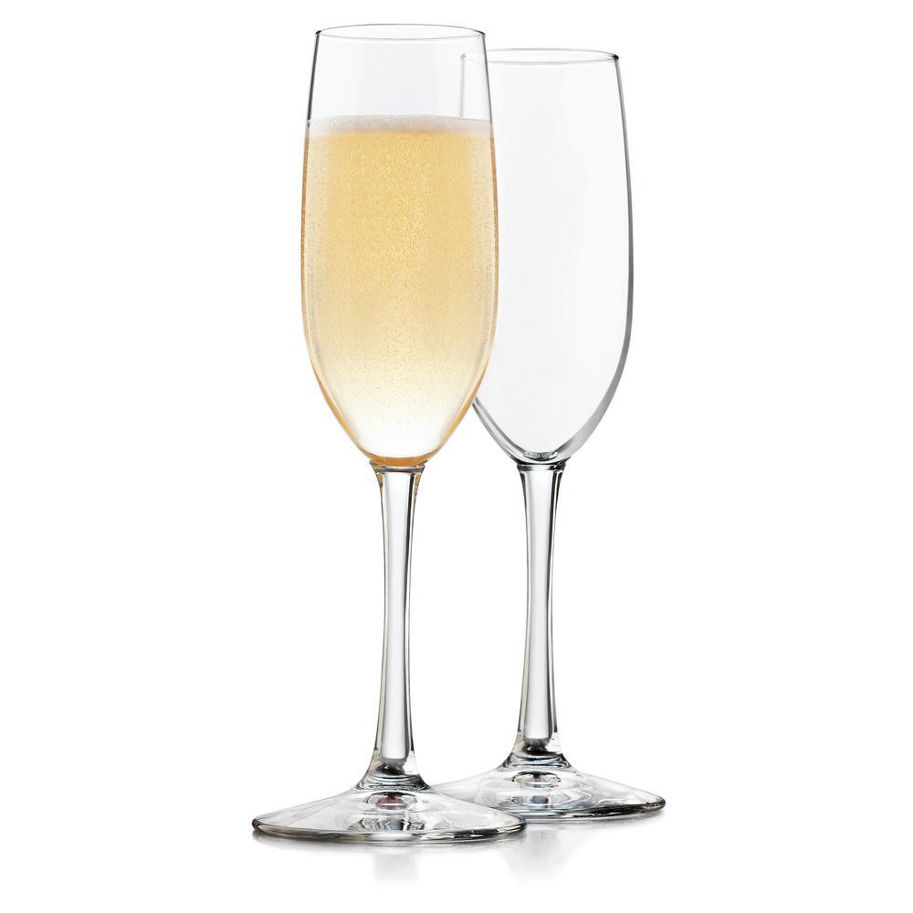 Midtown 4-piece Champagne Flute Set