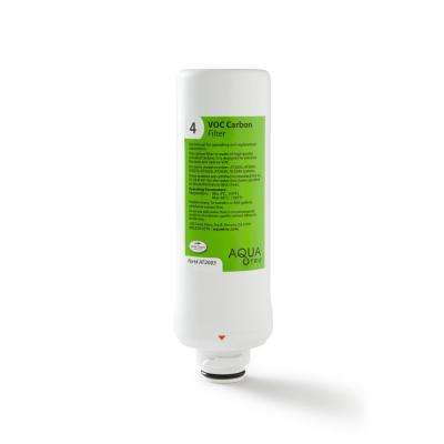 Stage 4 AQUA TRU Replacement VOC Filter for Countertop Reverse Osmosis Water Filter Purification System