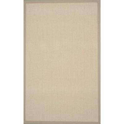 Sisal Soft Eggshell 5 ft. x 8 ft. Area Rug