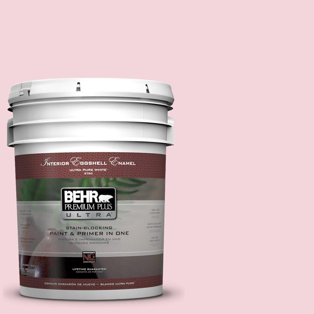 BEHR Premium Plus Ultra 5-gal. #P140-1 Summer Crush Eggshell Enamel Interior Paint