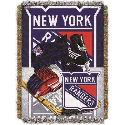 Rangers Multi Color HIA Tapestry Throw