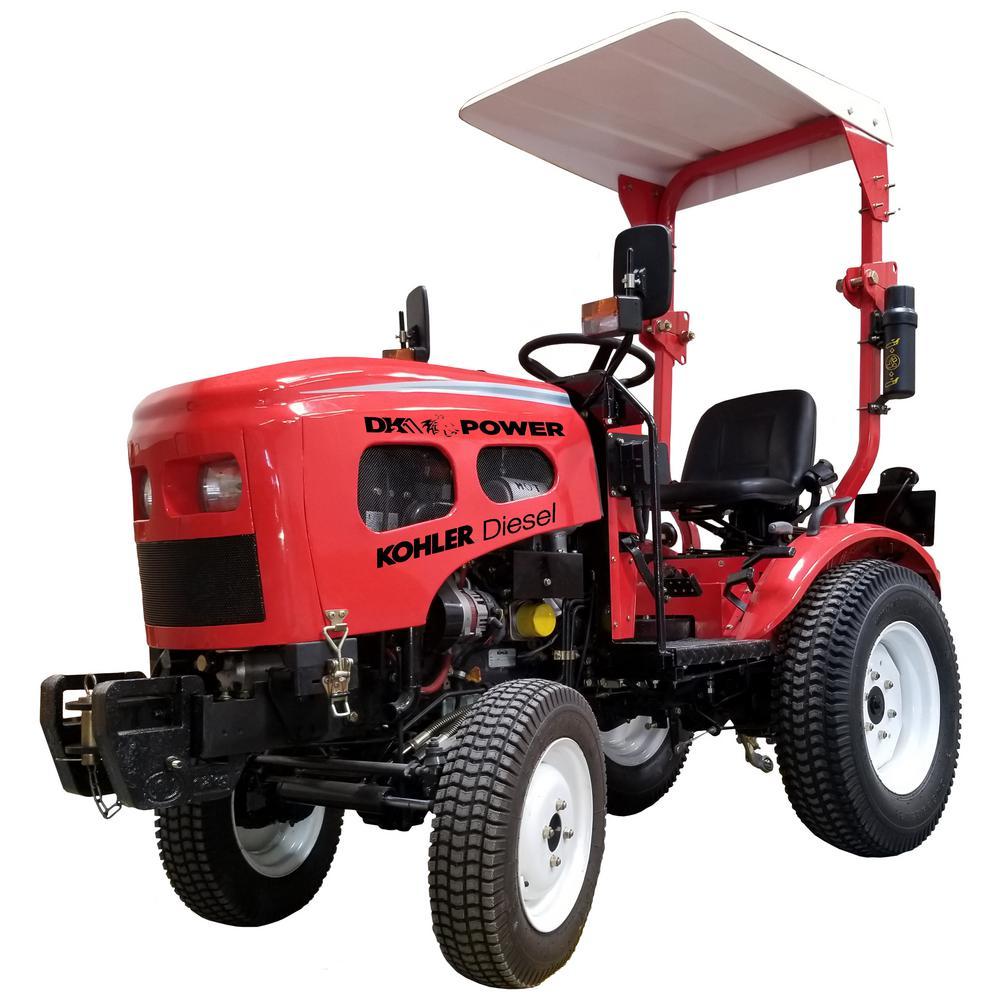 16 HP Diesel Powered Tractor with Kohler Engine