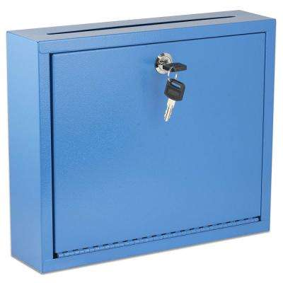 Large Size Blue Steel Multi-Purpose Drop Box