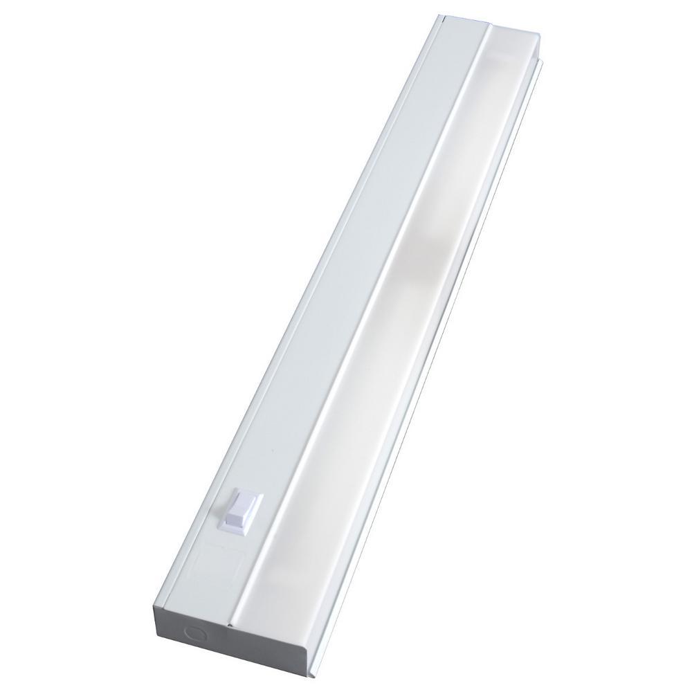 Bathroom Light Fixture Humming: GE Premium 24 In. Fluorescent Under Cabinet Light Fixture