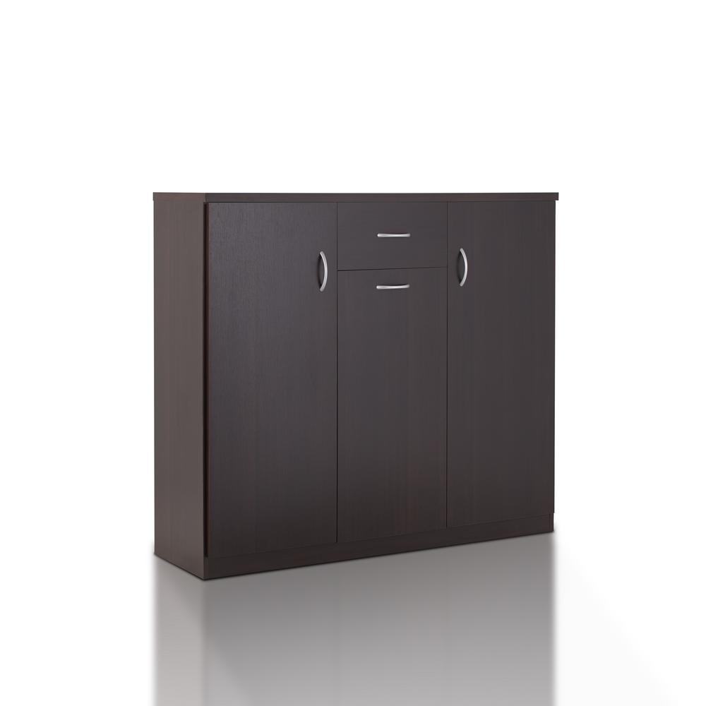 Meril Espresso Shoe Cabinet