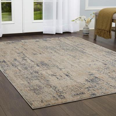 Kenmare Elson Gray/Beige 31.5 in. x 47 in. Indoor Area Rug