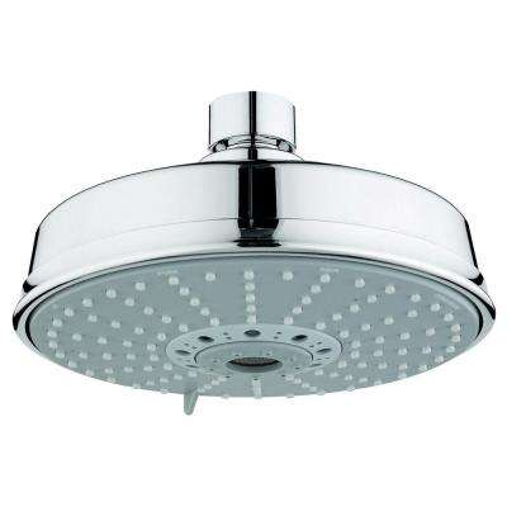 Rainshower 4-Spray 6-1/4 in. Showerhead in StarLight Chrome