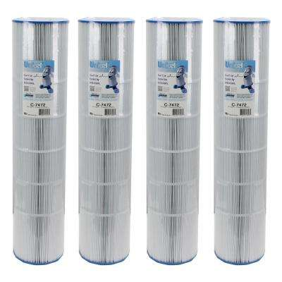 7 in. Dia Clean and Clear 520 Cartridge Filters PCC130 FC-1978 (4-Pack)